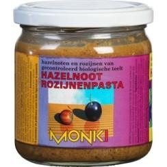 Hazelnoot-rozijnenpasta 330 gram