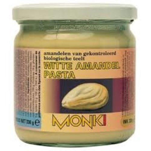 Monki Amandelpasta Wit 330 gram