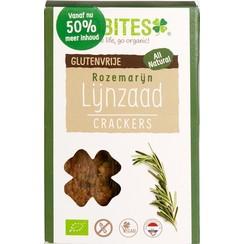 Lijnzaad Crackers Rozemarijn 90 gram