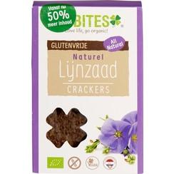 Lijnzaad Crackers Naturel 90 gram