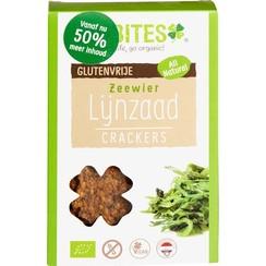 Lijnzaad Crackers Zeewier 90 gram