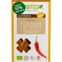 Lijnzaad Crackers Indian 90 gram