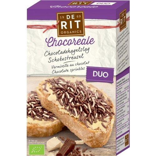 De Rit Chocolade Hagelslag Duo 225 gram