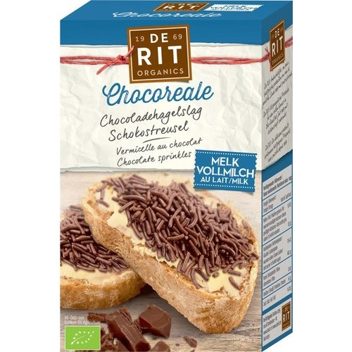 De Rit Chocolade Hagelslag Melk 225 gram