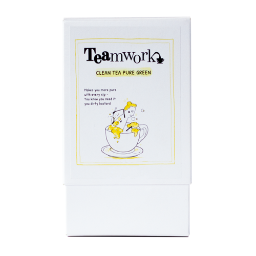 Teamwork Clean Tea Pure Green 20 zakjes