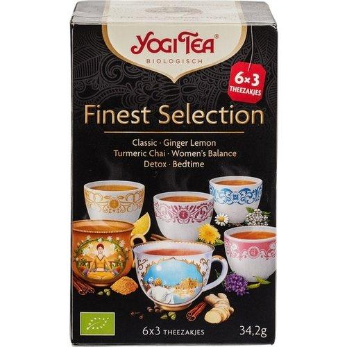 Yogi Tea Finest Selection Kruidenthee Mix 6 x 3 zakjes
