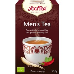 Kruidenthee Men's Tea 17 zakjes