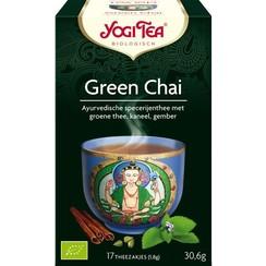 Kruindenthee Green Chai 17 zakjes
