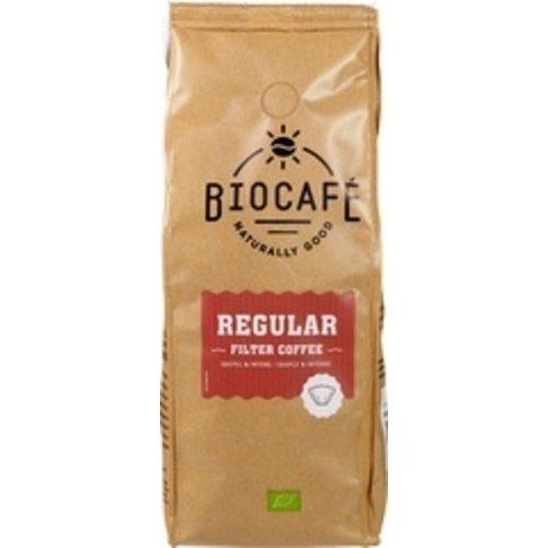 Biocafe Filterkoffie Regular 500 gram
