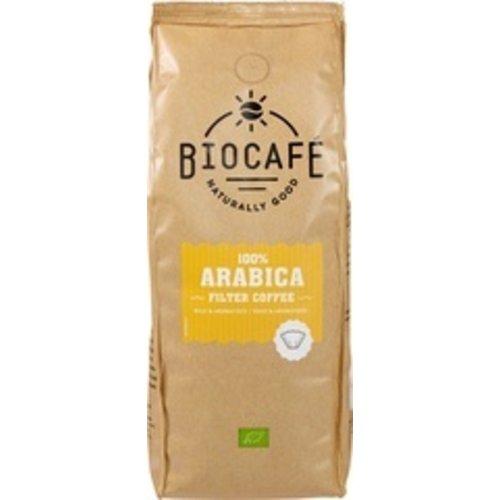Biocafe Filterkoffie 100% Arabica 500 gram
