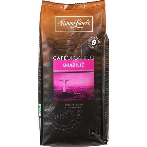 Simon Lévelt Café Organico Brazilië bonen 250 gram