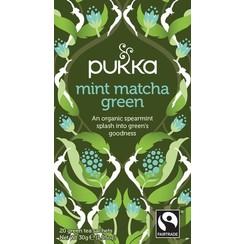 Kruidenthee  Mint Matcha Green 20 zakjes