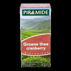 Groene Thee met Stukjes Cranberry 20 zakjes
