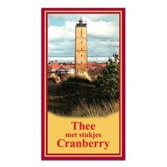 Thee met Stukjes Cranberry 20 zakjes