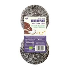 Rijstwafels Melkchocolade en Kokos 6 stuks
