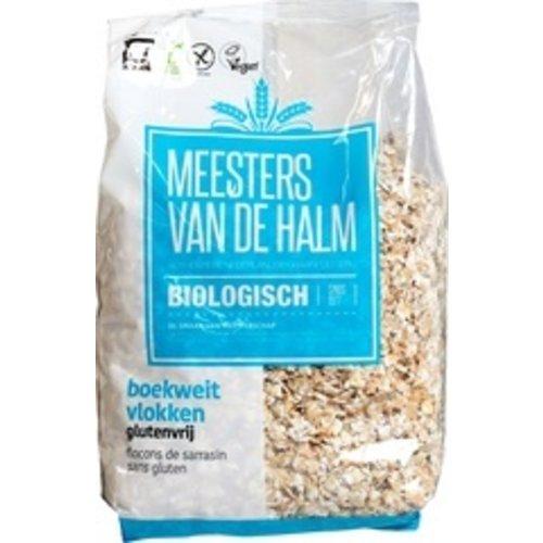 Meesters van de Halm Boekweivlokken  Glutenvrij 500 gram