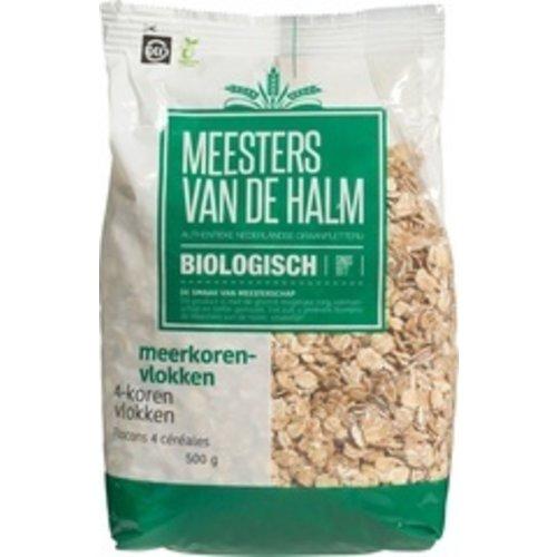 Meesters van de Halm 4-korenvlokken 500 gram