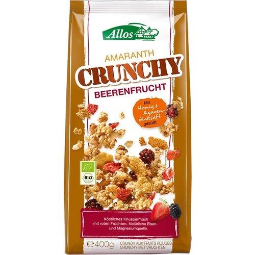 Allos Amaranth Crunchy Rode Vruchten 400 gram