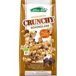 Amaranth Crunchy Chocolade 400 gram
