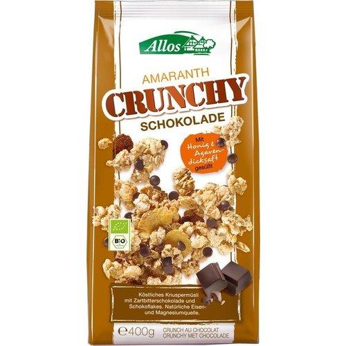 Allos Amaranth Crunchy Chocolade 400 gram