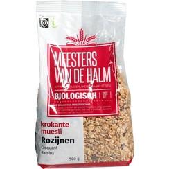 Krokante Muesli met Rozijnen 500 gram