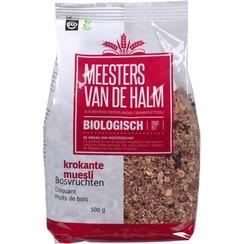 Krokante Muesli met Bosvruchten 500 gram
