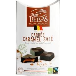 Pure Carrés met Gezouten Karamel 100 gram