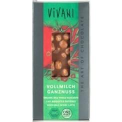 Melkchocolade Hazelnoot 100 gram
