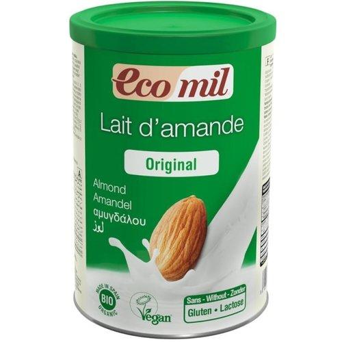 EcoMil Amandel Drank Instant Poeder 400 gram