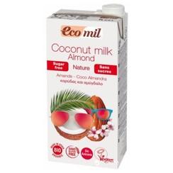 Kokosnootmelk Amandel 1 liter