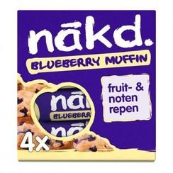 Blueberry Muffin Fruitrepen 4 stuks