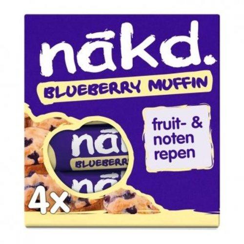 Nakd Blueberry Muffin 4 stuks