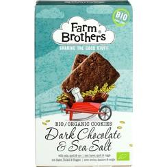 Pure Chocolade en Zeezout Koekjes 150 gram