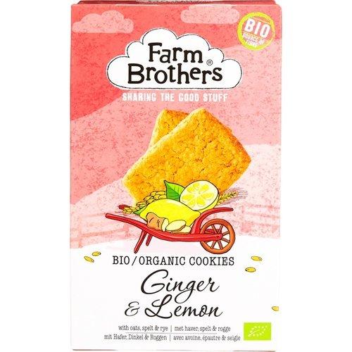 Farm Brothers Gember en Citroen Koekjes 150 gram