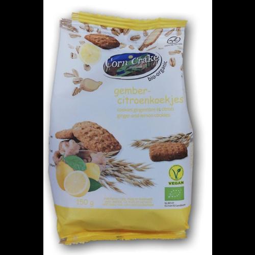 Corn Crake Gember Citroen Koekjes 150 gram