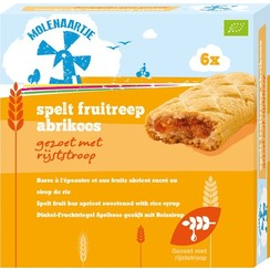 Spelt Fruitreep Abrikoos 180 gram