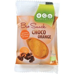 Bio Snack Choco Sinaasappel  45 gram