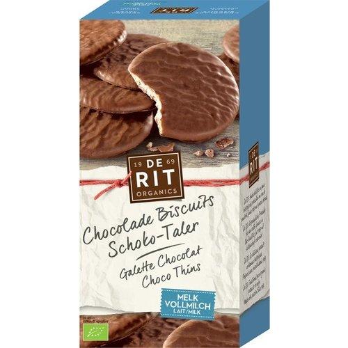 De Rit Chocolade Biscuits Melk 125 gram