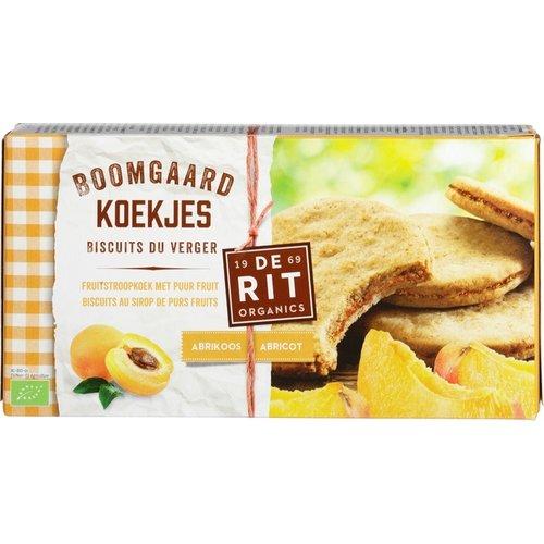 De Rit Boomgaardkoekjes Abrikoos 175 gram