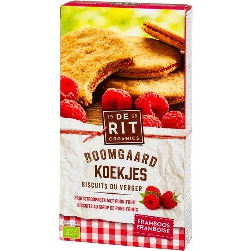 De Rit Boomgaardkoekjes Framboos 175 gram