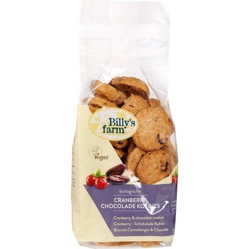 Billy's Farm Cranberry Chocolade Koekjes 175 gram