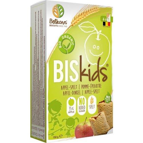 Belkorn BISkids Biscuits Appel Spelt 150 gram