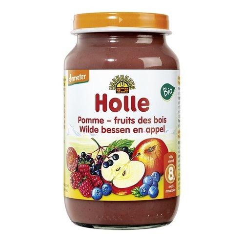 Holle Babyvoeding Wilde Bessen & Appel 220 gram (>8 maanden)