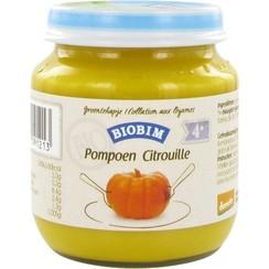 Groentehapje Pompoen 125 gram (>4 maanden)