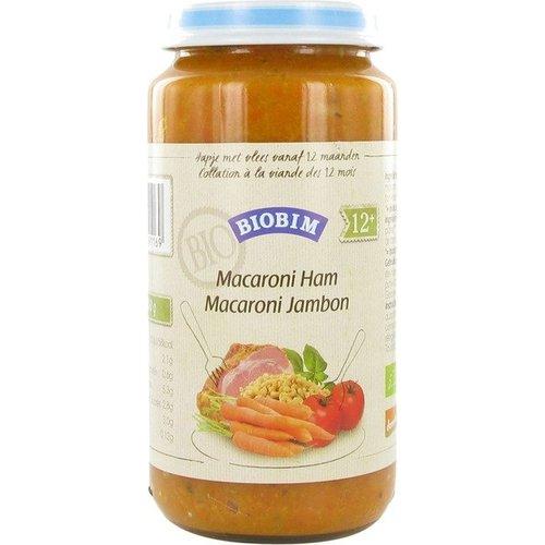 Biobim Babyvoeding Macaroni Ham 250 gram (>12 maanden)