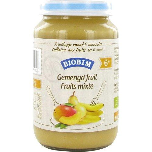 Biobim Babyvoeding Gemengd Fruit 200 gram (>6 maanden)