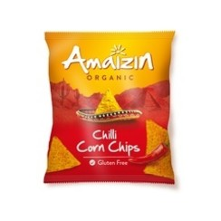 Maïschips  Glutenvrij Chili 75 gram