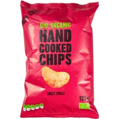 Hand Cooked Chips Sweet Chili 125 gram