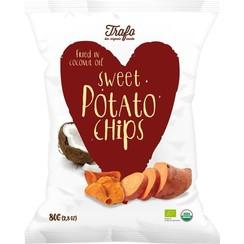 Zoete Aardappelchips 80 gram