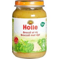 Babyvoeding Broccoli Rijst 190 gram (>4 maanden)